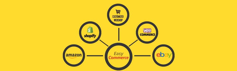 連接不同銷售平台